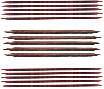"Knitter's Pride 8"" 3.50 mm/US 4 Cubics Double Point Needles"