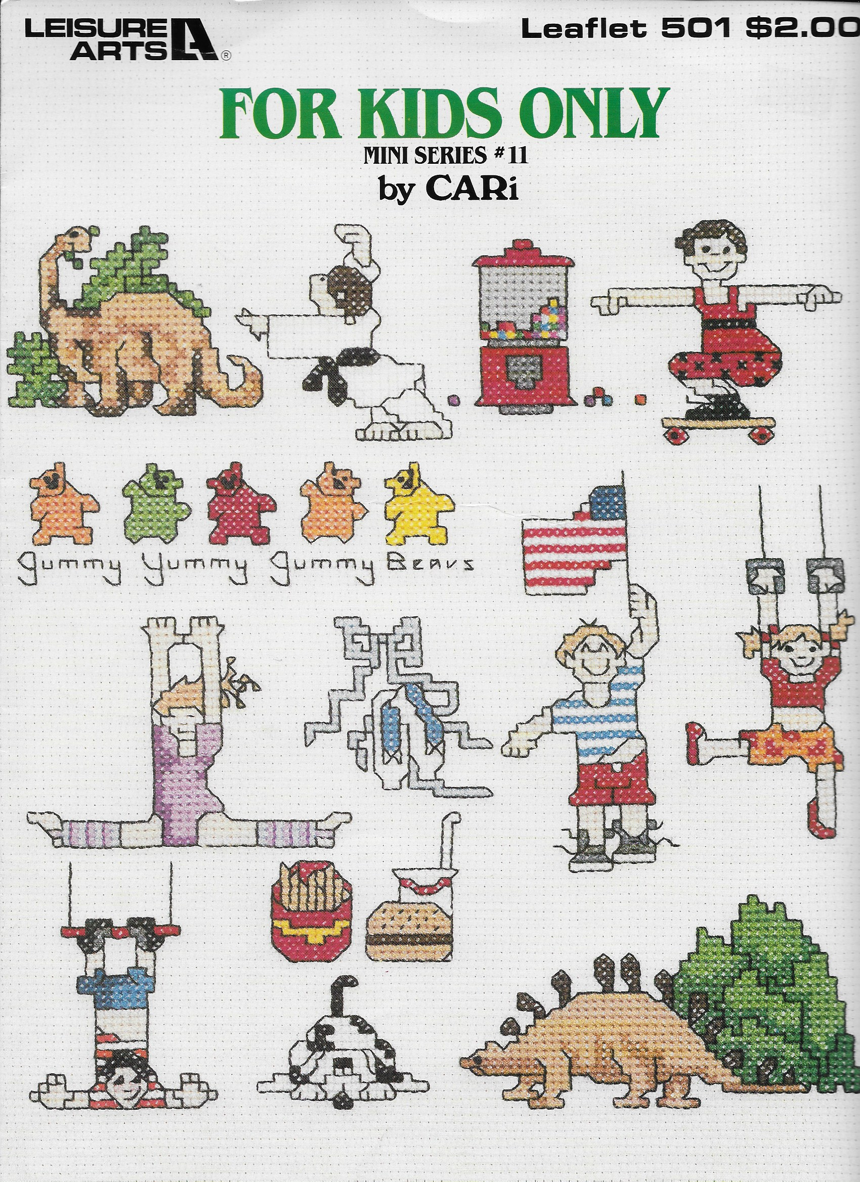 Leisure Arts 501 For Kids Only for Cross Stitch