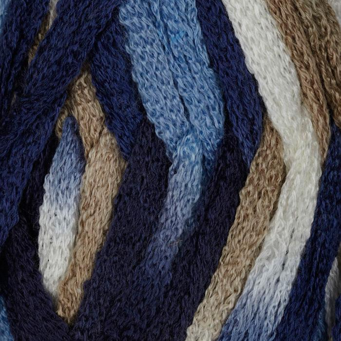 Starbella 9 Faded Jeans from Premier Yarns. Beautiful Ruffle Yarn