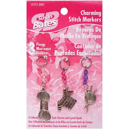 Susan Bates Charming Stitch Markers #14151.0002